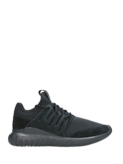 Adidas-Tubular Radial black Tech/syntetic sneakers