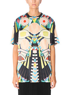 Givenchy-T-Shirt Crazy Cleopatra in seta multicolor