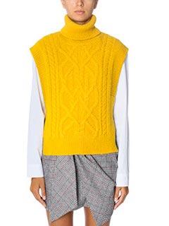 Isabel Marant-Grant yellow wool knitwear