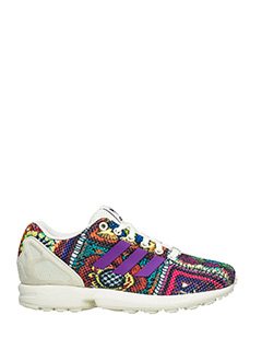 Adidas-Zx flux w multicolor Tech/syntetic sneakers