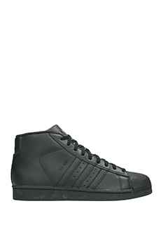 Adidas-Sneakers Pro Model W  in pelle  nera
