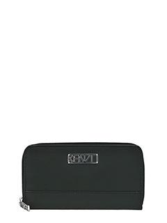 Kenzo-Kalifornia wall black rubber/plasic wallet