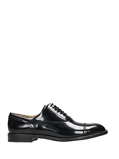 Marc Jacobs-Stringate Clinton Oxford in pelle nera