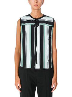 Marc Jacobs-green silk topwear