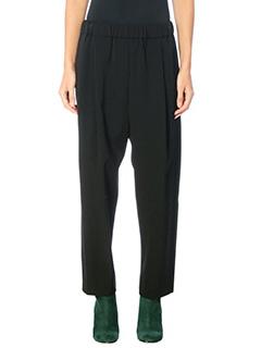 Damir Doma-Poe black wool pants