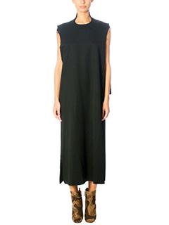 Damir Doma-Deledda black wool dress
