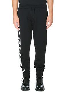 Kenzo-Pantaloni Kenzo Jogpant in cotone nero