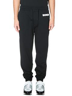 Kenzo-Pantaloni Runway Jogpant in cotone nero