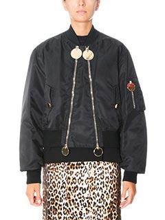 Givenchy-Bomber in nylon e cotone nero