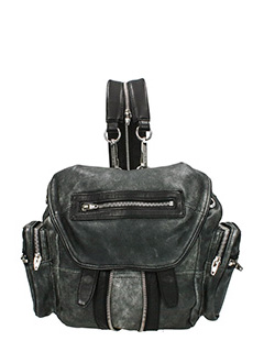 Alexander Wang-Mini Marti grey leather backpack