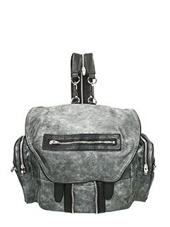 Alexander Wang-Marti grey leather backpack