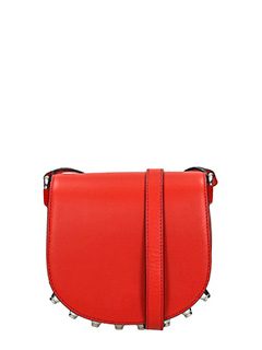 Alexander Wang-Mini Lia red leather bag