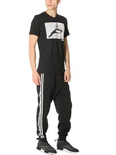 Adidas-Pantaloni Adc Sweatpant in cotone nero