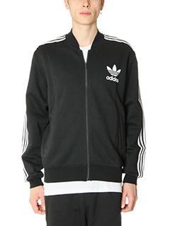 Adidas-Felpa Adc Fashion in cotone nero