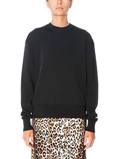 Givenchy-Long sleeves sw black wool knitwear