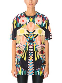 Givenchy-T-Shirt Crazy Cleopatra in cotone fantasia multicolor