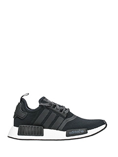 Adidas-Sneakers Nmd R1 in tessuto nero