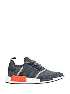 Adidas-Sneakers Nmd R1 in tessuto grigio
