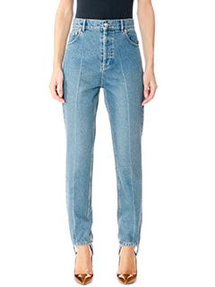 Balenciaga-blue denim jeans