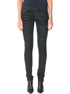 Off White-black denim jeans