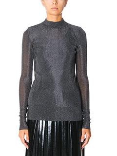 Golden Goose Deluxe Brand-Robin  grey wool knitwear