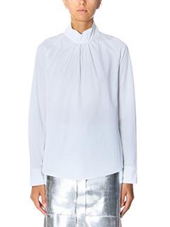 Golden Goose Deluxe Brand-Camicia Marian in cotone bianco