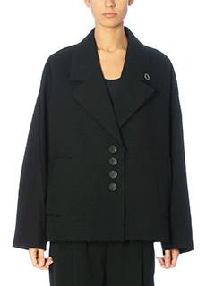 Damir Doma-John black cotton outerwear
