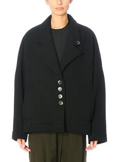 Damir Doma-John black wool outerwear