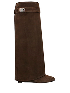 Givenchy-Pant Boot 9 brown suede boots