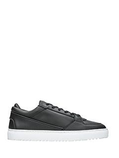 Etq .-Sneakers Low 3  in pelle nera