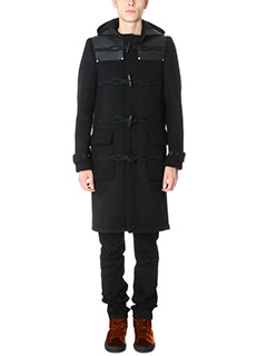 Givenchy-Cappotto Duffe in lana nera