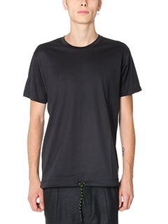 Low Brand-T-Shirt B 38 in cotone nero