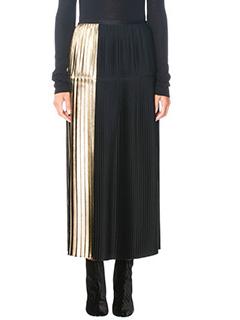 Stella McCartney-Carmen black viscose skirt