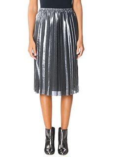 Isabel Marant Etoile-Madlen silver polyester skirt
