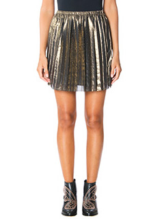 Isabel Marant Etoile-Gonna  Mini Manda in lam� bronzo