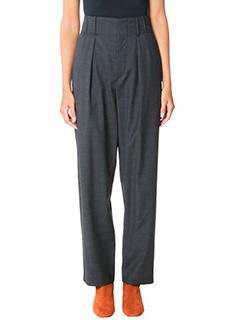 Isabel Marant Etoile-Ned grey wool pants