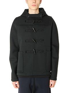 Balenciaga-Montgomery in lana nera