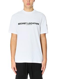 Alexander Wang-T-Shirt Mixtape Tee in cotone bianco