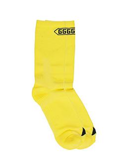 Golden Goose Deluxe Brand-Ethel  yellow cotton socks