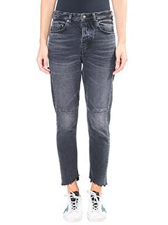 Golden Goose Deluxe Brand-Jeans Happy in denim nero
