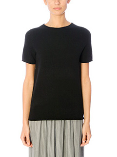 Theory-T-Shirt Tolleree in lana nera