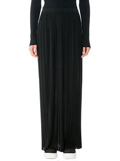 Theory-Osnyo black polyester skirt