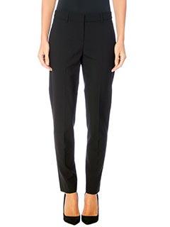 Theory-Pantaloni Testra 2 B in lana nera