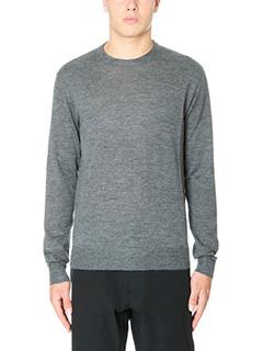 Jil Sander-Maglia Sweater Knitted in lana grigia