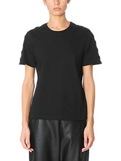 Neil Barrett-T-Shirt in cotone nero