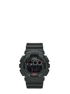 Casio-Orologio G-Shock BlackOut in resina nera