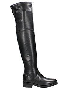 Lola Cruz-Stivali in pelle nera