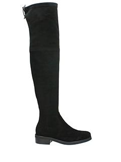 Lola Cruz-Stivali in camoscio nero
