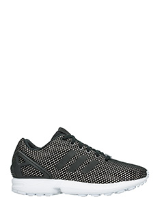 Adidas-Zx flux w black Tech/syntetic sneakers