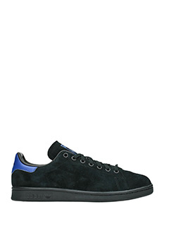 Adidas-Sneakers Stan Smith  in camoscio nero